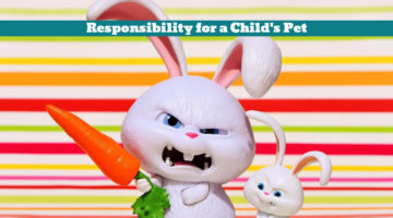 Responsibility for a Child's Pet