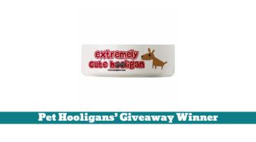 Pet Hooligans' Giveaway Winner