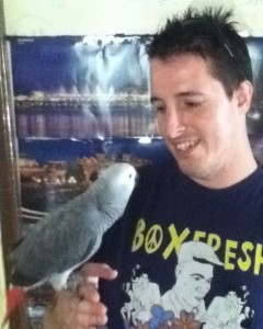 chris-with-african-grey-parrot