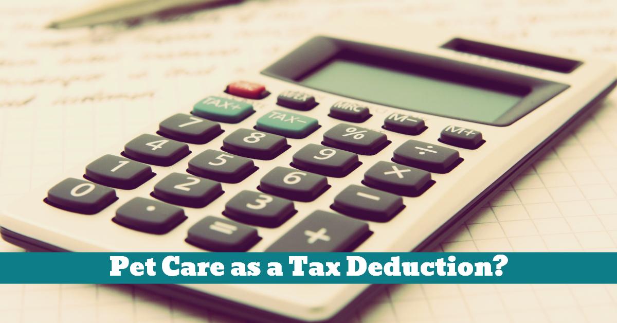 Pet_Care_Tax_Deduction
