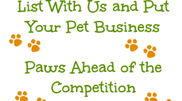 Do You Have a Pet Centered Business? Promote It In Our Pet Directory