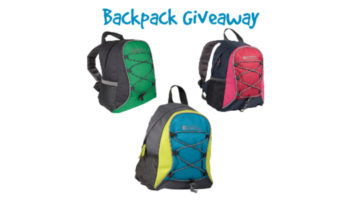Backpack Giveaway: Perfect for Walking The Dog